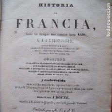 Libros antiguos: SAINT PROSPER.-HISTORIA DE FRANCIA.-A. HOUZE.-GRABADOS.-HISTORIA.-OBRA COMPLETA.-BARCELONA.-AÑO 1940. Lote 102530527