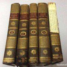 Libros antiguos: HISTOIRE ROMAINE DE TITE - LIVE, POR M. DUREAU DE LAMALLE, ( 5 VOLUMES ). MUY RAROS. Lote 102784611