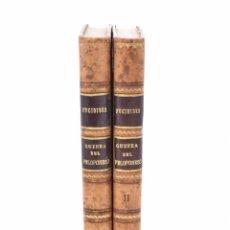 Libros antiguos: HISTORIA DE LA GUERRA DEL PELOPONESO, I-II (EDICIÓN COMPLETA) - TUCÍDIDES. Lote 103603450