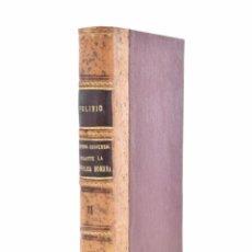 Libros antiguos: HISTORIA UNIVERSAL DURANTE LA REPÚBLICA ROMANA. TOMO II - POLIBIO MEGALOPOLITANO. Lote 103603668