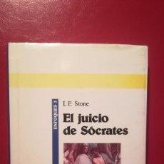 Libros antiguos: EL JUICIO DE SÓCRATES. . Lote 103874971