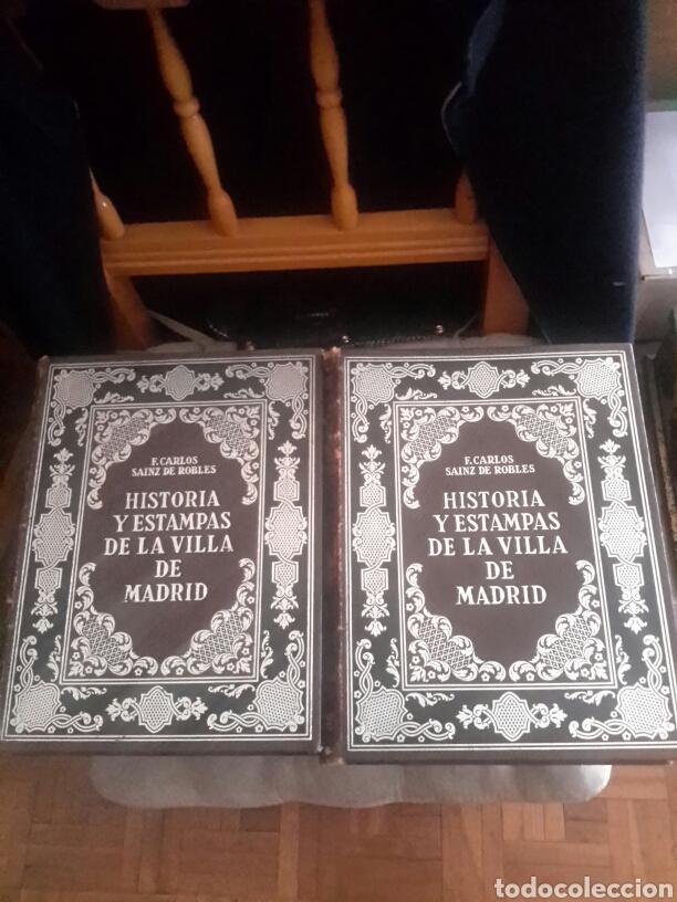 HISTORIA Y ESTAMPAS DE LA VILLA DE MADRID (Libros antiguos (hasta 1936), raros y curiosos - Historia Antigua)