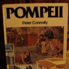 Libros antiguos: POMPEII (POMPEYA ) PETER CONNOLLY EN INGLES. Lote 104426919