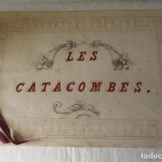 Libros antiguos: SIGLO XIX: LAS CATACUMBAS - MANUSCRITO - HOMENAJE DE RECONOCIMIENTO.. Lote 105130839