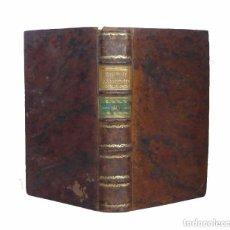 Libros antiguos: 1787 - HISTORIA DE INGLATERRA HASTA EL S. XIII - HISTORIA ANTIGUA - EDAD MEDIA - TIPOGRAFÍA GÓTICA! . Lote 105436451