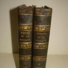 Libros antiguos: DOS TOMOS HISTORIA DE LAS MONARQUIAS ESPAÑOLAS DESDE EL 411 AL 1833.....AÑO 1848. Lote 105618019