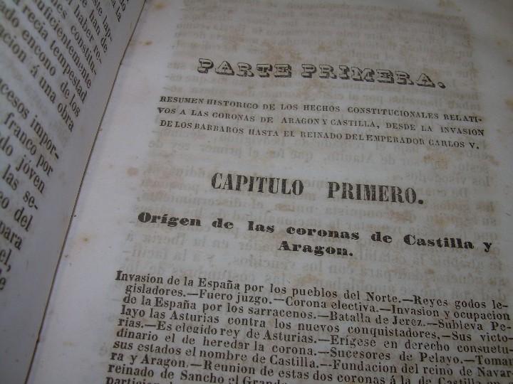 Libros antiguos: DOS TOMOS HISTORIA DE LAS MONARQUIAS ESPAÑOLAS DESDE EL 411 AL 1833.....AÑO 1848 - Foto 4 - 105618019
