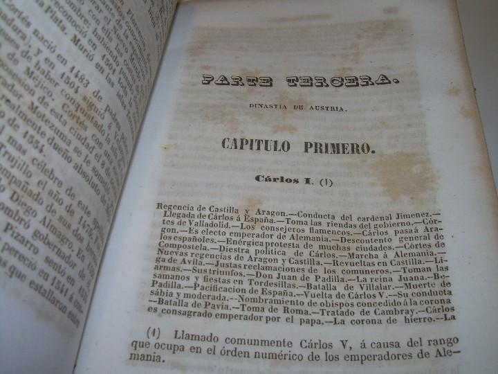 Libros antiguos: DOS TOMOS HISTORIA DE LAS MONARQUIAS ESPAÑOLAS DESDE EL 411 AL 1833.....AÑO 1848 - Foto 7 - 105618019