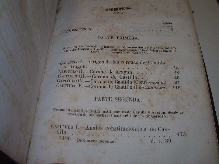 Libros antiguos: DOS TOMOS HISTORIA DE LAS MONARQUIAS ESPAÑOLAS DESDE EL 411 AL 1833.....AÑO 1848 - Foto 9 - 105618019