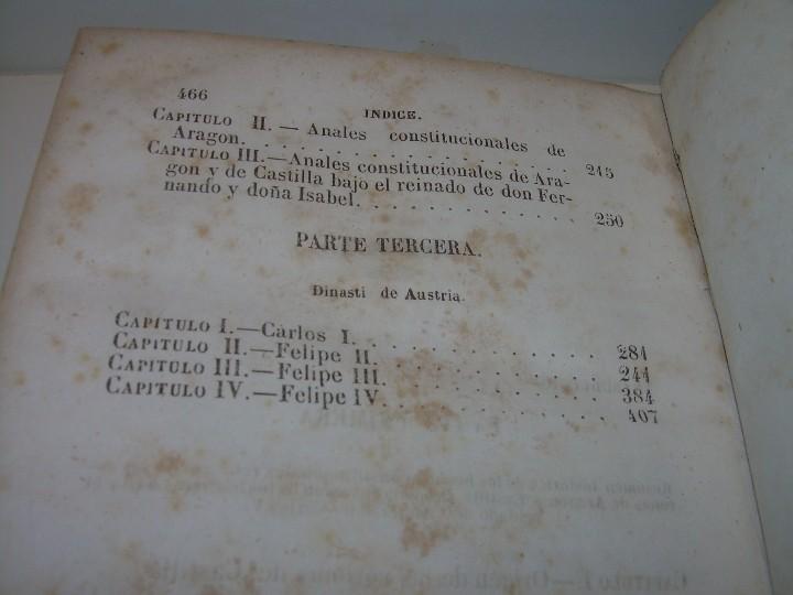 Libros antiguos: DOS TOMOS HISTORIA DE LAS MONARQUIAS ESPAÑOLAS DESDE EL 411 AL 1833.....AÑO 1848 - Foto 10 - 105618019