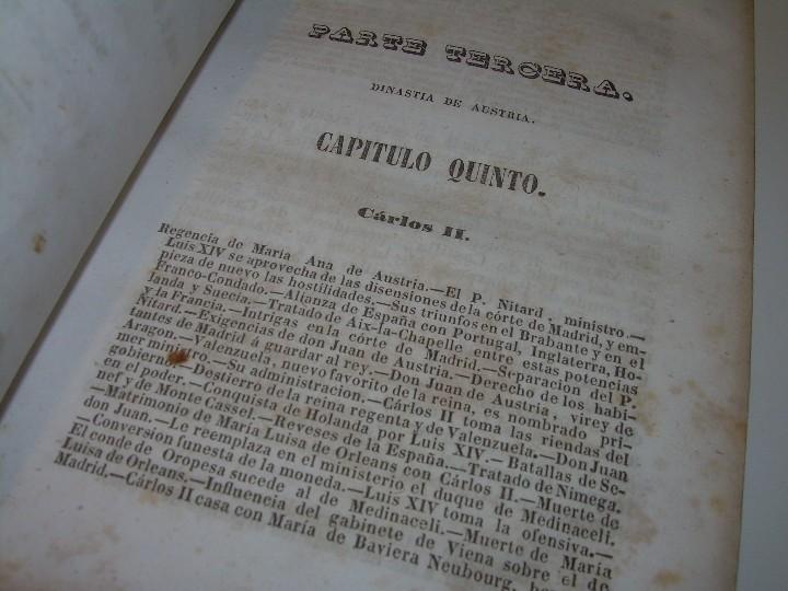 Libros antiguos: DOS TOMOS HISTORIA DE LAS MONARQUIAS ESPAÑOLAS DESDE EL 411 AL 1833.....AÑO 1848 - Foto 11 - 105618019