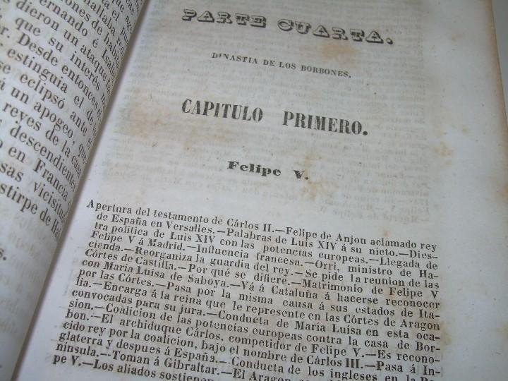 Libros antiguos: DOS TOMOS HISTORIA DE LAS MONARQUIAS ESPAÑOLAS DESDE EL 411 AL 1833.....AÑO 1848 - Foto 13 - 105618019
