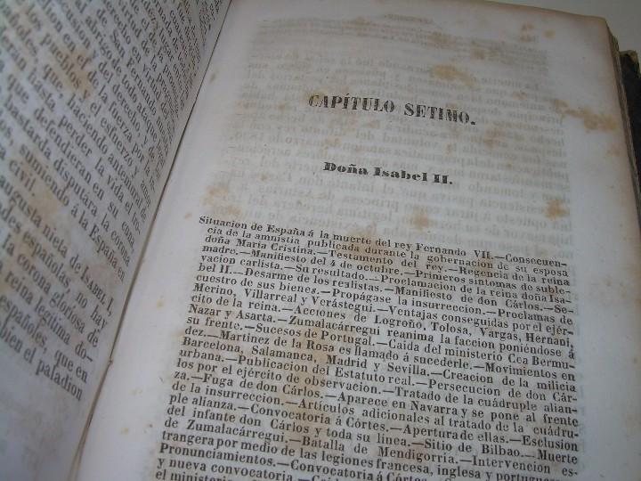 Libros antiguos: DOS TOMOS HISTORIA DE LAS MONARQUIAS ESPAÑOLAS DESDE EL 411 AL 1833.....AÑO 1848 - Foto 14 - 105618019