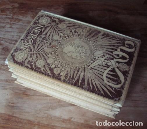 Libros antiguos: Nerón. Estudio histórico. Tomos I, II y III - CASTELAR, Emilio. 1891-1893 - Foto 3 - 104753167
