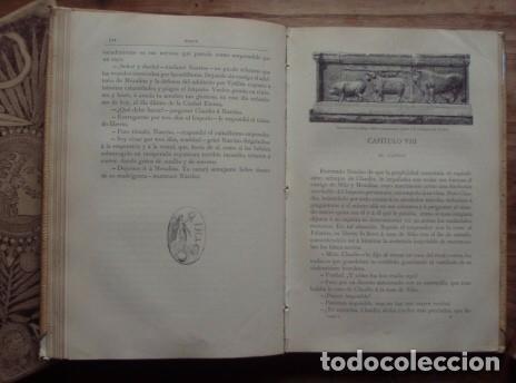 Libros antiguos: Nerón. Estudio histórico. Tomos I, II y III - CASTELAR, Emilio. 1891-1893 - Foto 7 - 104753167