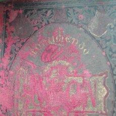 Libros antiguos: PRECIOSO LIBRO DE 1891 HOMENAJE A CRISTOBAL COLON. Lote 105708695
