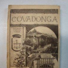 Libros antiguos: ASTURIAS - ACACIO CACERES PRAT: COVADONGA (1887). Lote 105773839