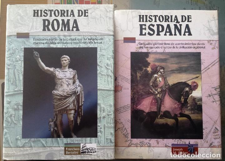 HISTORIA DE ROMA E HISTORIA DE ESPAÑA (Libros antiguos (hasta 1936), raros y curiosos - Historia Antigua)