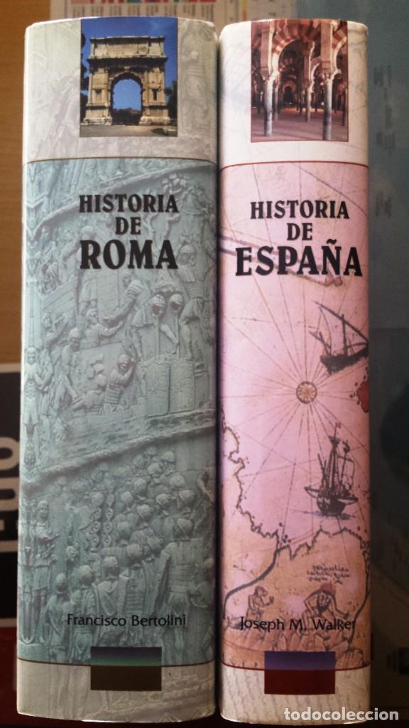 Libros antiguos: HISTORIA DE ROMA e HISTORIA DE ESPAÑA - Foto 3 - 106569431