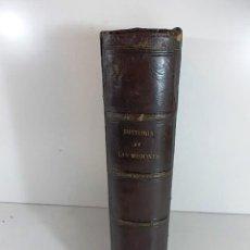 Libros antiguos: ANTIGUO LIBRO HISTORIA GENERAL DE LAS MISIONES POR EL BARON HENRION TOMO I. 1863. Lote 106709047