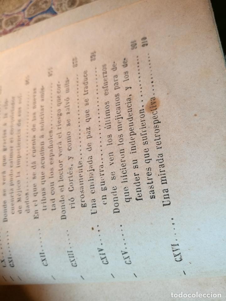Libros antiguos: GLORIAS NACIONALES. HERNAN CORTES. 3 TOMOS. AÑO 1868. DESCUBRIMIENTO Y CONQUISTA DE MEJICO. - Foto 5 - 106949507
