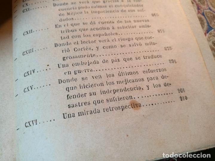 Libros antiguos: GLORIAS NACIONALES. HERNAN CORTES. 3 TOMOS. AÑO 1868. DESCUBRIMIENTO Y CONQUISTA DE MEJICO. - Foto 6 - 106949507