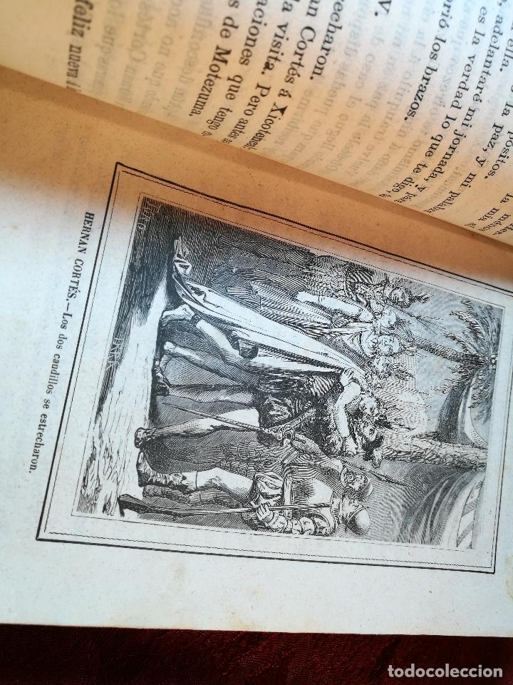 Libros antiguos: GLORIAS NACIONALES. HERNAN CORTES. 3 TOMOS. AÑO 1868. DESCUBRIMIENTO Y CONQUISTA DE MEJICO. - Foto 13 - 106949507