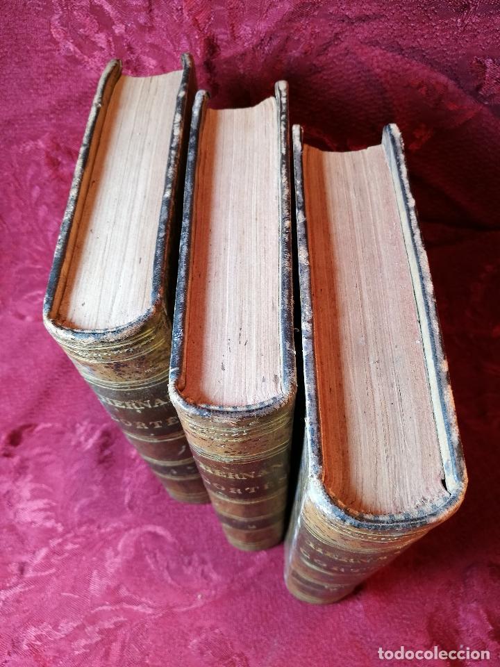 Libros antiguos: GLORIAS NACIONALES. HERNAN CORTES. 3 TOMOS. AÑO 1868. DESCUBRIMIENTO Y CONQUISTA DE MEJICO. - Foto 26 - 106949507