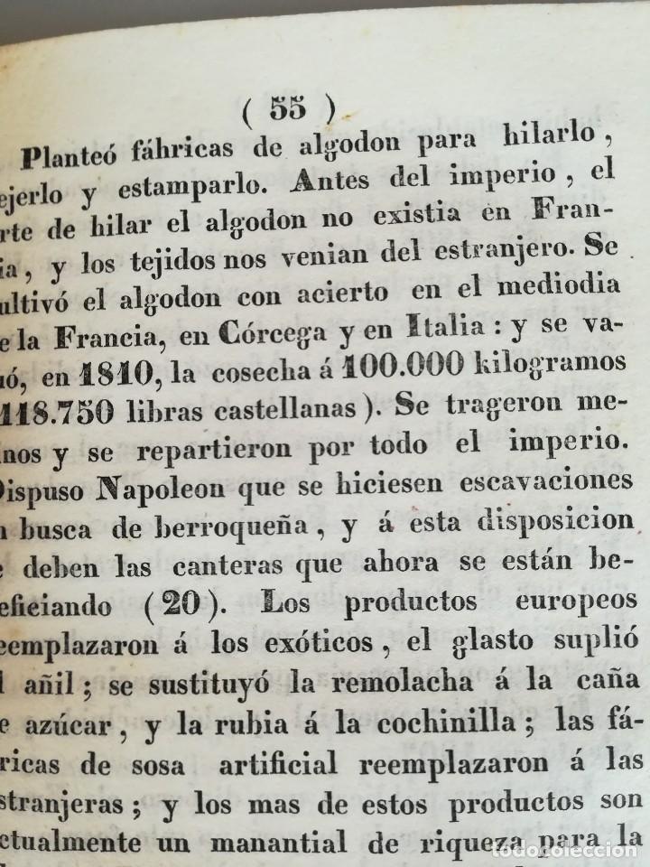 Libros antiguos: LIBRO,IDEAS NAPOLEONICAS, SIGLO XIX, AÑO 1839,EMPERADOR NAPOLEON BONAPARTE,OPINIONES DE ESPAÑA Y MAS - Foto 5 - 107062091