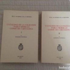 Libros antiguos: CATALOGO COLECCION PABLO MORILLO CONDE DE CARTAGENA - REMEDIOS CONTRERAS - REAL ACADEMIA HISTORIA. Lote 107197523