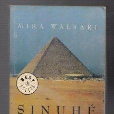 Libros antiguos: LIBROS VIEJOS SINUHE EL EGIPCIO. Lote 107597339