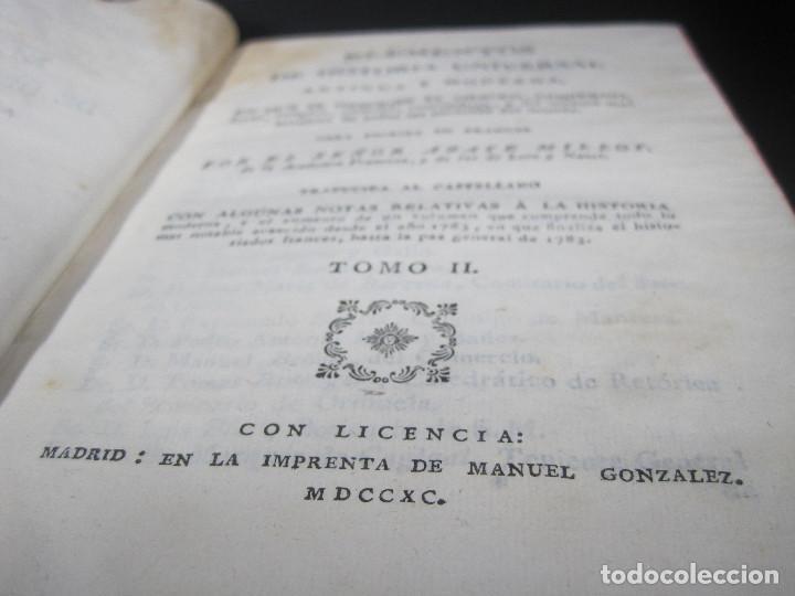 Libros antiguos: Año 1790 Antigua Grecia y Roma Sócrates Alejandro Magno astronomía medicina historia Castellano - Foto 6 - 108045355