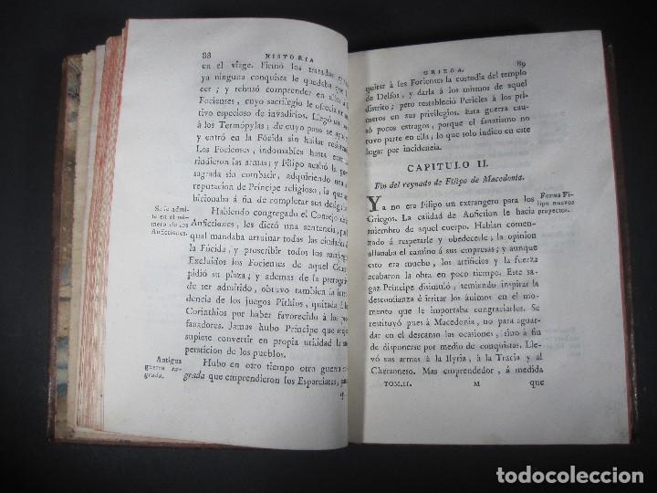 Libros antiguos: Año 1790 Antigua Grecia y Roma Sócrates Alejandro Magno astronomía medicina historia Castellano - Foto 9 - 108045355