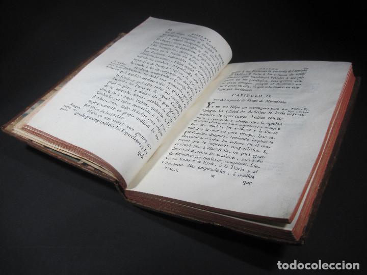 Libros antiguos: Año 1790 Antigua Grecia y Roma Sócrates Alejandro Magno astronomía medicina historia Castellano - Foto 10 - 108045355