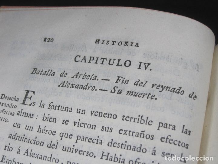 Libros antiguos: Año 1790 Antigua Grecia y Roma Sócrates Alejandro Magno astronomía medicina historia Castellano - Foto 12 - 108045355