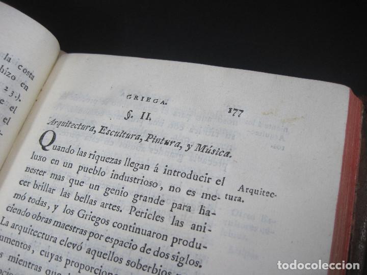 Libros antiguos: Año 1790 Antigua Grecia y Roma Sócrates Alejandro Magno astronomía medicina historia Castellano - Foto 13 - 108045355