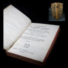 Libros antiguos: AÑO 1791 ROMA HISTORIA ANTIGUA NERÓN CALÍGULA CONSTANTINOPLA PERSIA PLENA PIEL CASTELLANO. Lote 108045883