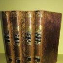 Libros antiguos: 4 TOMOS OBRA COMPLETA,ESPAÑA ROMANTICA,SIGLO XIX, AÑO 1840,ANECTODAS REYES DE ESPAÑA,EL CID,MUY RARO. Lote 108460339