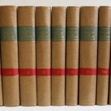 Libros antiguos: COLECCIÓN DE CRÓNICAS ESPAÑOLAS. - MATA CARRIAZO, JUAN DE. 9 VOLÚMENES. LÁMINAS Y MAPAS. 1940-1946.. Lote 109024083