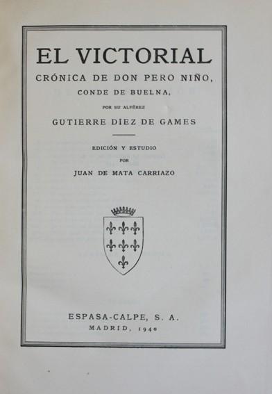Libros antiguos: COLECCIÓN DE CRÓNICAS ESPAÑOLAS. - MATA CARRIAZO, Juan de. 9 volúmenes. láminas y mapas. 1940-1946. - Foto 2 - 109024083