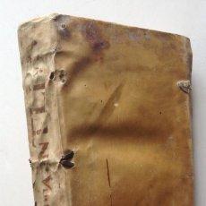 Libros antiguos: AÑO 1578 * HISTORIA DE ROMA * AB URBE CONDITA * TITO LIVIO * 380 PAGINAS * PERGAMINO . Lote 118201304