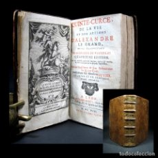Libros antiguos: AÑO 1692 HISTORIA DE ALEJANDRO MAGNO GRABADO FRONTISPICIO QUINTO CURCIO RUFO DE REBUS ALEXANDRI. Lote 109120055