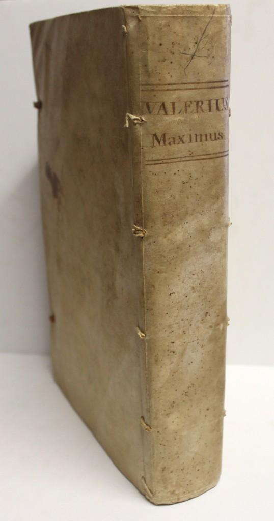 Libros antiguos: VALERII MAXIMI dictorum ac factorum memorabilium tam Romanorum, q[ue] externorum Collectanea, cum... - Foto 2 - 109021155