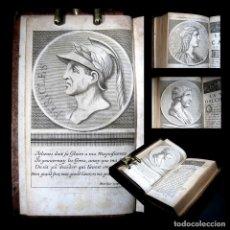 Libros antiguos: AÑO 1684 PLUTARCO VIDAS PARALELAS HOMBRES ILUSTRES ANTIGUA GRECIA Y ROMA GRABADOS PERICLES. Lote 109508207