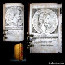 Libros antiguos: AÑO 1684 PLUTARCO VIDAS PARALELAS HOMBRES ILUSTRES ANTIGUA GRECIA Y ROMA GRABADOS A PLENA PÁGINA. Lote 109508519