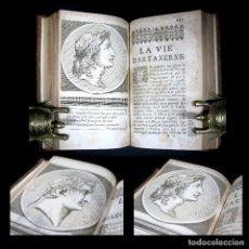 Libros antiguos: AÑO 1684 PLUTARCO VIDAS PARALELAS HOMBRES ILUSTRES ANTIGUA GRECIA Y ROMA GRABADOS ARTAJERJES. Lote 109508599