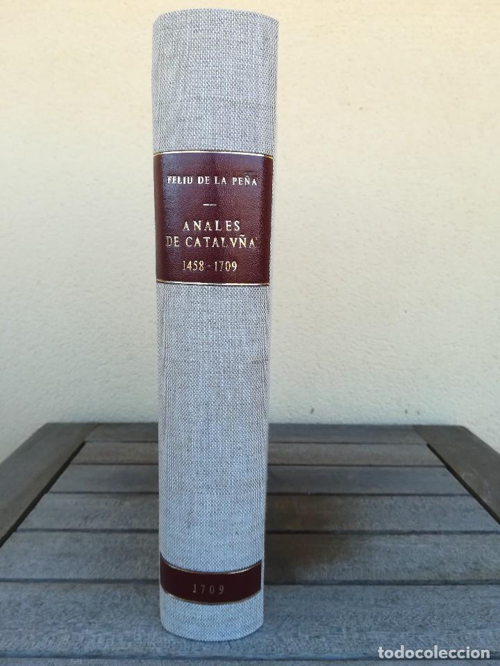 Libros antiguos: LIBRO SIGLO XVIII,ANALES DE CATALUÑA,AÑO 1709,SUCESOS DE1458 A 1709,GUERRA SEGADORS,SUCESOS HISTORIA - Foto 4 - 109555439