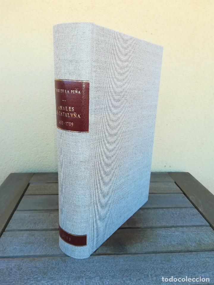 Libros antiguos: LIBRO SIGLO XVIII,ANALES DE CATALUÑA,AÑO 1709,SUCESOS DE1458 A 1709,GUERRA SEGADORS,SUCESOS HISTORIA - Foto 14 - 109555439