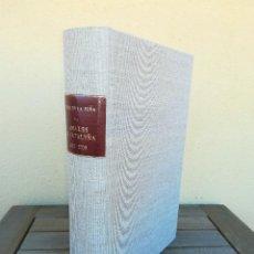 Libros antiguos: LIBRO SIGLO XVIII,ANALES DE CATALUÑA,AÑO 1709,SUCESOS DE1458 A 1709,GUERRA SEGADORS,SUCESOS HISTORIA. Lote 109555439