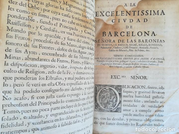 Libros antiguos: LIBRO SIGLO XVIII,ANALES DE CATALUÑA,AÑO 1709,SUCESOS DE1458 A 1709,GUERRA SEGADORS,SUCESOS HISTORIA - Foto 2 - 109555439